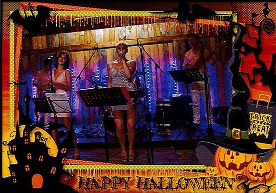 """Halloween con gli """"Ajda e Eva Band"""""""